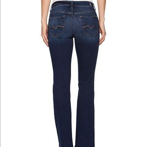 • 7 For All Mankind • Bootcut Rhinestone Pckt Jean